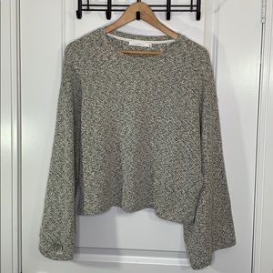 Lush Large Bell Sleeve Sweater